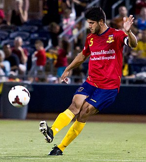 Daniel Antúnez - Antunez playing for Arizona United SC