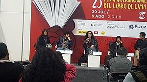 Presentación en FIL Lima 2018