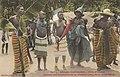 Danses des habitants de la forêt le long de la voie ferrée (Côte d'Ivoire)-Couleur.jpg