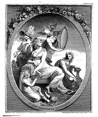 The Botanic Garden - The frontispiece to The Botanic Garden, designed by Henry Fuseli