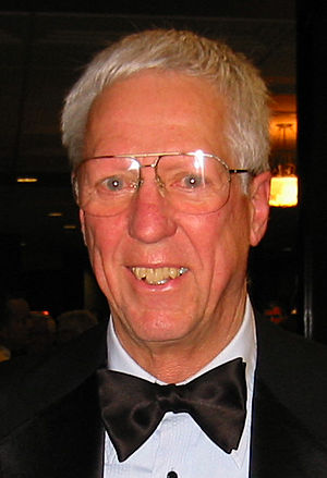 David Hartman (TV personality) - Hartman at the Society of Experimental Test Pilots banquet in 2002