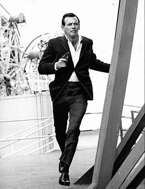 David Janssen - in TV series The Fugitive, 1963–1967 (final episode)