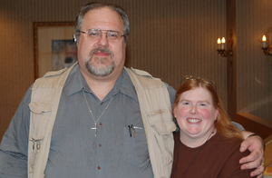 David Weber, author, and his wife Sharon at CO...