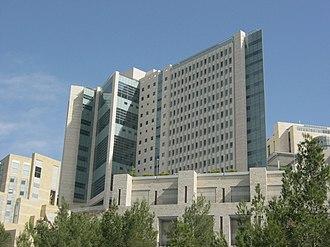 Hadassah Medical Center - Davidson Tower, 2012