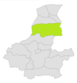 Dawlat Abad district location in map of Faryab province.png