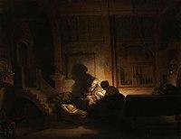 De heilige familie bij avond Rijksmuseum SK-A-4119.jpeg
