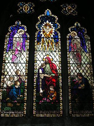 Deddington - Window by AJ Davies in the parish church