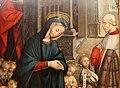 Defendente ferrari, adorazione del bambino con un donatore, 1511, 02.JPG