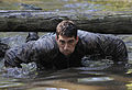Defense.gov News Photo 120614-F-TR874-971 - U.S. Air Force Maj. Christopher Wright navigates through a water obstacle during a combat mission readiness evaluation the Pre-Ranger Course at Fort.jpg