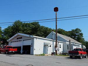 Delano Township, Schuylkill County, Pennsylvania - Image: Delano Fire Co 1, Schuylkill Co PA