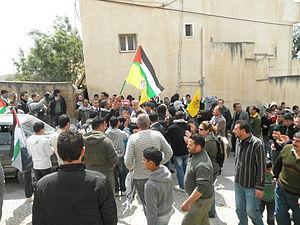 Kafr Qaddum - Demonstration against road block, Kafr Qaddum, March 2012
