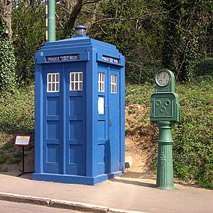Derbyshire Constabulary - Image: Derbyshire Police Box at Crich