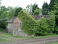 Derelict building near Fairbourne Mill shortly before being sold for conversion - geograph.org.uk - 410060.jpg