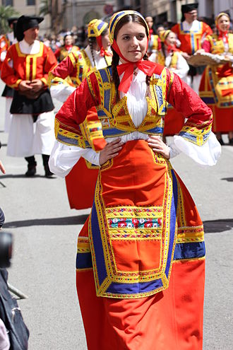 Desulo - Desulo's folk costumes