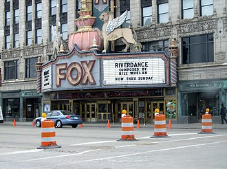 Fox Theatre (Detroit) - Image: Detroit Fox 1