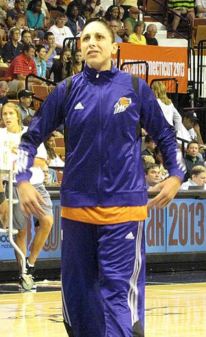2004 WNBA draft - Diana Taurasi was selected first overall by the Phoenix Mercury.