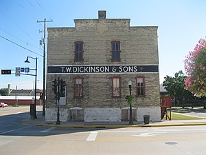 Edgerton, Wisconsin - Tobacco warehouse in Edgerton