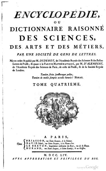 File:Diderot - Encyclopedie 1ere edition tome 4.djvu