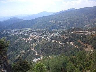 Didihat - View of Didihat from Sherakot