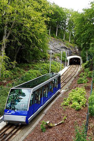 Fløibanen - Blåmann at the passing loop