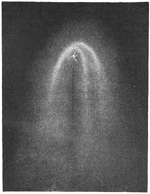 C/1881 K1 - The great comet of 1881, image published in Die Gartenlaube