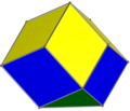 Diminished rhombic dodecahedron.png