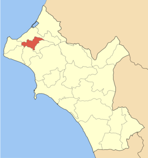 Andravida - Municipality of Andravida within the regional unit of Elis.