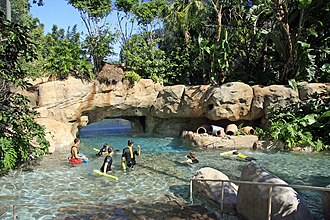 Discovery Cove - Image: Disccove River