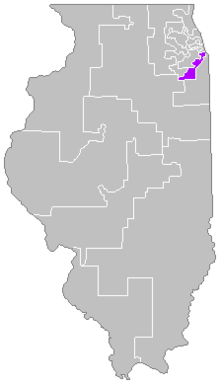 alt=Description de l'image Districts de l'Illinois (01).png.