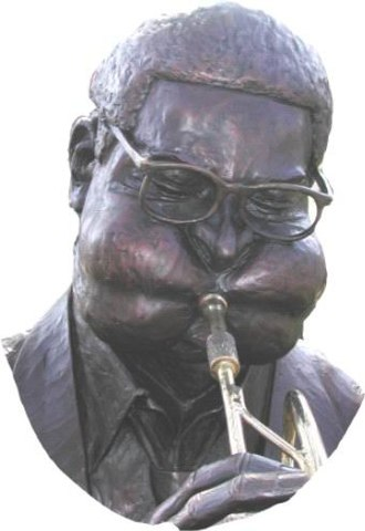 Dizzy Gillespie - Statue of Gillespie in his hometown of Cheraw, South Carolina