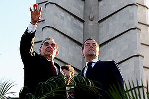 Dmitry Medvedev in Cuba 28 November 2008-4