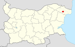 Dobrich Municipality Within Bulgaria.png