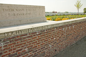 Jimmy Speirs - Image: Dochy Farm New British Cem