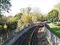 Docklands Light Railway north of Elverson Road DLR station - geograph.org.uk - 1053367.jpg