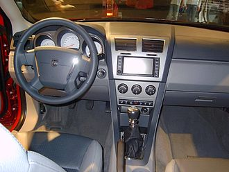 Dodge Avenger - 2008-2010 model dashboard