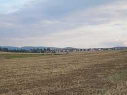 Dolní Třebonín seen from the north