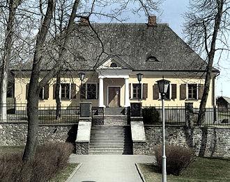 Adam Mickiewicz - Mickiewicz's house, Navahrudak