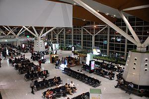 Indira Gandhi International Airport - Interior of the Domestic Terminal