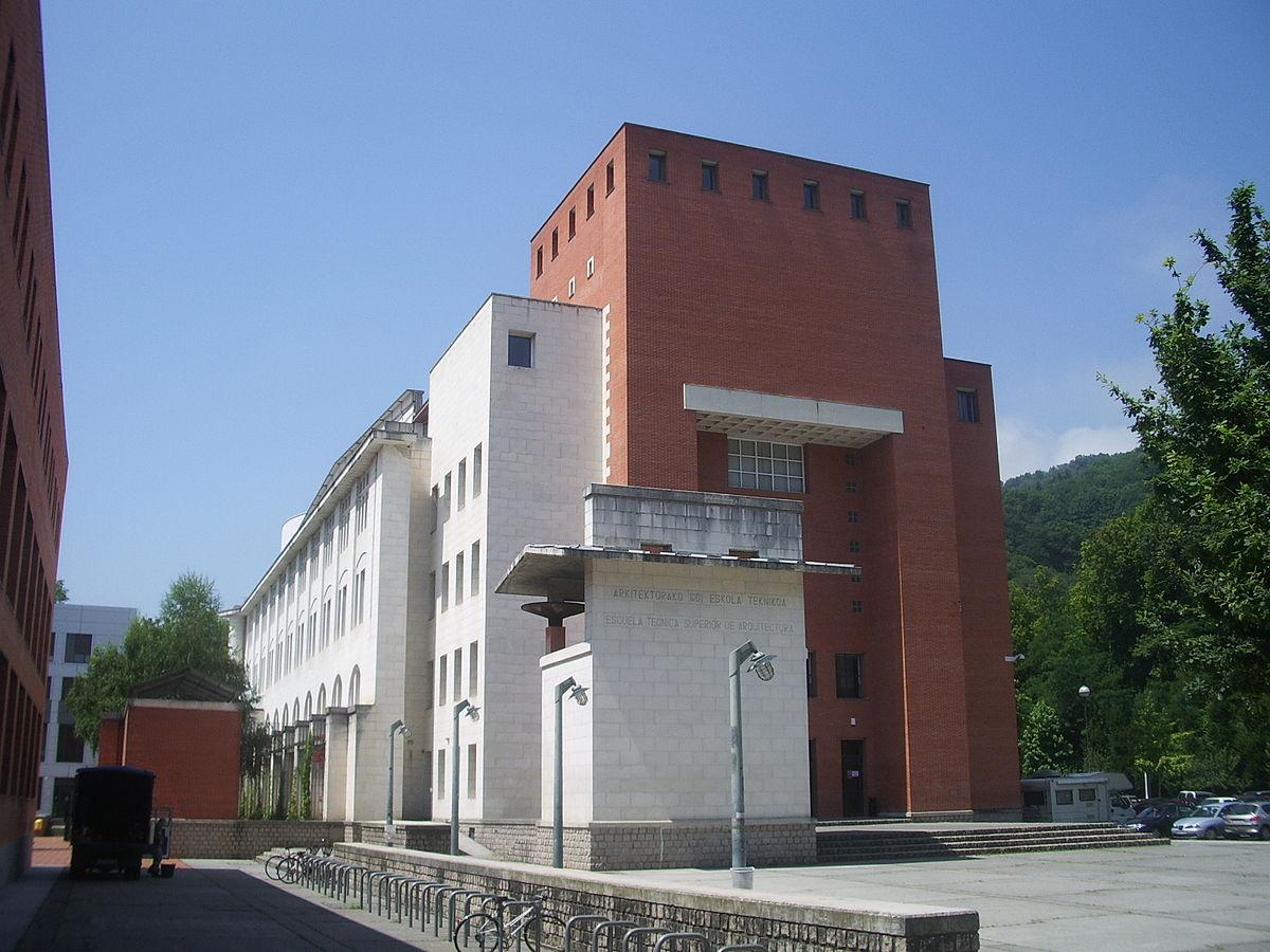 Escuela T Cnica Superior De Arquitectura De San Sebasti N