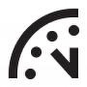 Doomsday Clock - Image: Doomsday Clock 7 minute mark
