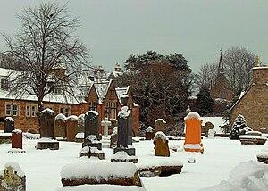 Dornoch Cathedral - Image: Dornoch Cathedral Cemetery