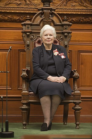 Lieutenant Governor of Ontario - Image: Dowdeswell Throne