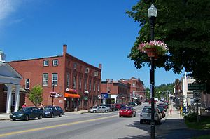 Farmington, Maine - Downtown Farmington