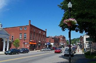 Farmington, Maine - Downtown Farmington