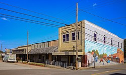 Downtown Trenton, Texas