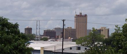 Downtown Waco as seen from Interstate 35 Downtown Waco from I-35-cropped.jpg