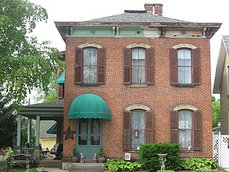 John H. Clark House - Front of the house