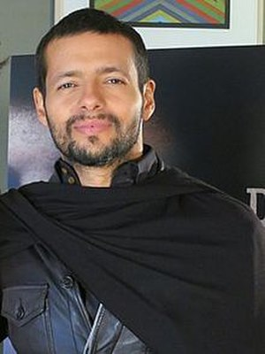 "Draco Rosa - Draco on the set of his music video for ""Más y Más"" in 2013"