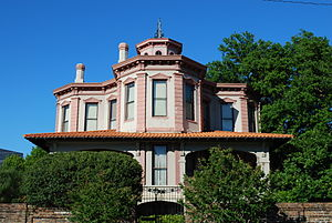 National Register of Historic Places listings in Bowie County, Texas - Image: Draughn Moore House, Texarkana