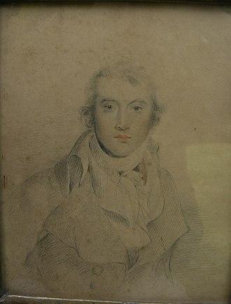 Thomas Read Kemp - Drawing of Kemp by Sir Thomas Lawrence.